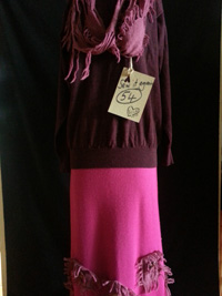 wool knit upcycled