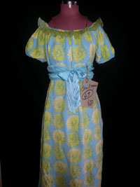 upcycled peasant dress